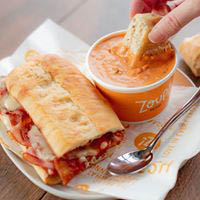 zoup, soup, salads, sandwiches, catering, lunch, dinner, delivery