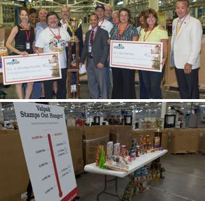 Stamp Out Hunger Employee Food Drive