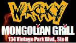 Wacky Mongolian Grill At Vintage Park logo