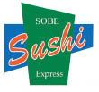 Sobe Sushi Express logo Food Delivery South Beach and Miami Beach, FL.