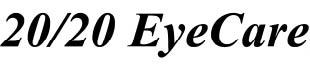 20/20 Eye Care eye exam coupons logo