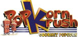 POP KORN KRUSH SIRLEAF logo