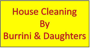 Burrini House Cleaning logo in Randolph, NJ
