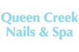 QUEEN CREEK NAILS & SPA logo