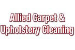 ALLIED CARPET & UPHOLSTERY CLEANING logo