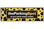 The Parking Spot logo in LAX Airport, Los Angeles