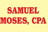 Tax consultant CPA tax IRS account Income Federal state santa monica Samuel Moses coupon