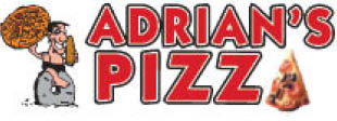 Logo for hot fresh pizza at Adrian's Pizza Wexford in Wexford PA