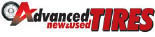 ADVANCED NEW & USED TIRES logo