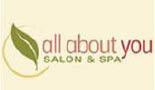 ALL ABOUT YOU SALON & SPA logo