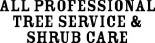 All Professional Tree Service & Shrub Care in Oklahoma City, OK