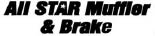 ALL STAR MUFFLER & BRAKE logo