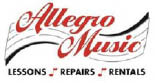 Allegro Music Lessons Rentals and Repairs Peoria Goodyear Phoenix AZ