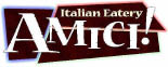 Amici Italian Eatery logo in Graham, WA