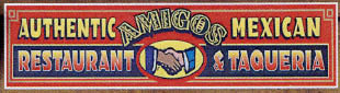 Amigos Authentic Mexican Restaurant logo