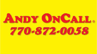 andy on call logo for handyman services coupons Roswell & Gwinnett
