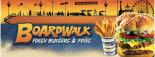 BOARDWALK FRESH BURGERS & FRIES logo