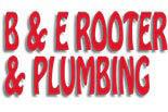 B & E ROOTER logo