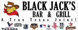 BLACK JACK BAR & GRILL logo