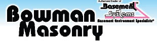 BOWMAN MASONRY logo
