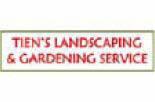 Tien's Landscaping & Gardening Service Logo