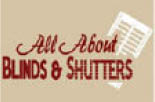 ALL ABOUT BLINDS & SHUTTERS logo