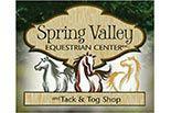 Spring Valley Equestrian Center in Newton NJ logo