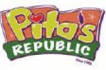 Restaurant coupon Tampa  Pita's Republic Logo Palm harbor FL Pita Republic coupons