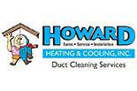HOWARD HEATING & COOLING logo