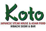 KOTO JAPANESE STEAKHOUSE logo
