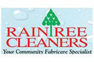 Raintree Cleaners logo in Culver City, CA