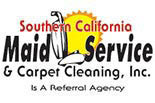 Southern California Maid Service logo Gardena, CA.