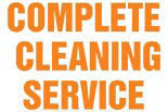 COMPLETE CLEANING SERVICE logo