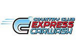EXPRESS COUNTRY CLUB CAR WASH logo