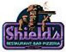 SHIELD's PIZZA-THE BEST FAMILY PIZZA RESTAURANT logo