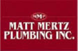 Logo for Pittsburgh plumbing service by Matt Mertz Plumbing Company in Pittsburgh PA
