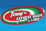 TONY'S EXPRESS CAR WASH logo