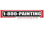 ONE 800 PAINTING Solid Painting DFW logo