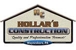 Hollar's Construction Logo, Construction Business Logo