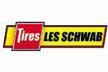 Les Schwab Logo and Pole Sign