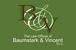 BAUMSTARK & VINCENT Law Office logo