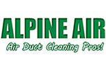 Alpine Air- Air Duct Cleaning logo