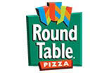 Round Table Pizza logo in Los Angeles