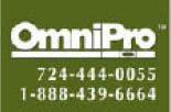 Omni Pro logo in Gibsonia PA