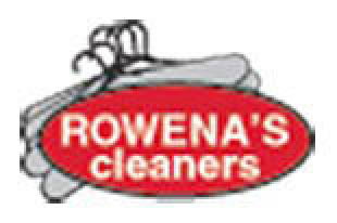 Rowena's Cleaners logo near Loyola Marymount University, Los Angeles, CA