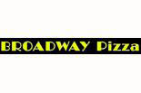 Broadway Pizza logo in Potomac MD, cabin john, gluten free crust, calzone pizza, lunch specials menu