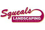 SQUEAL's LANDSCAPING logo