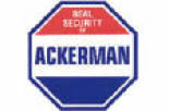 Ackerman Security Systems in Atlanta logo