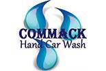 COMMACK HAND CAR WASH logo