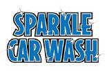 Sparkle Car Washes logo in Columbia, South Carolina